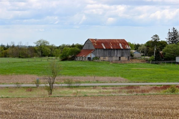 This appears to be a functioning farm south of Stouffville, although it might be for sale at the right price.